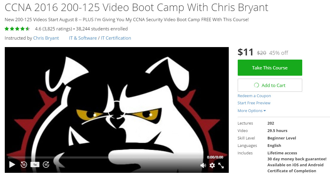 CCNA Video Boot Camp with Chris Bryant