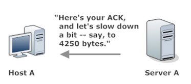 TCP Flow Control Slow It Down