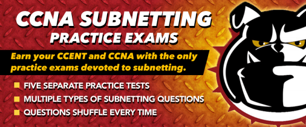 CCNA Subnetting Practice Exam Pack