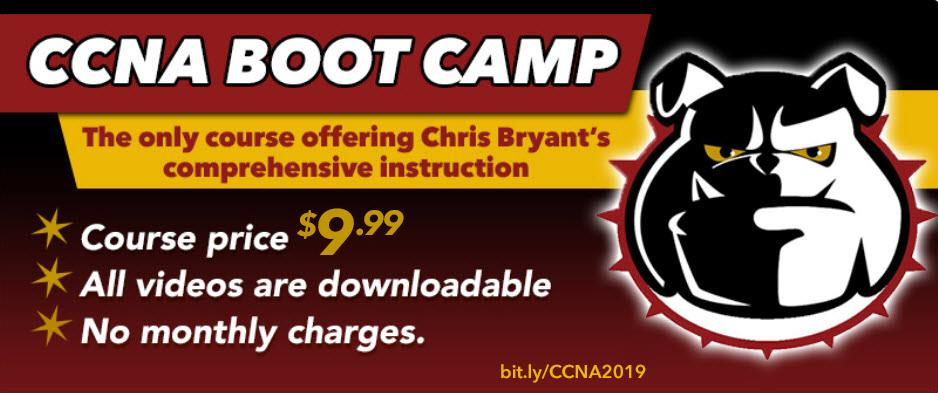 Chris Bryant's CCNA Video Boot Camp